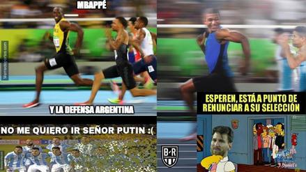 Messi y Mbappé son los protagonistas de los memes tras el triunfo de Francia