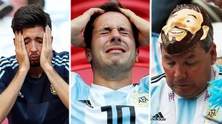 Así fue el lamento de los hinchas de Argentina tras quedar fuera de Rusia 2018
