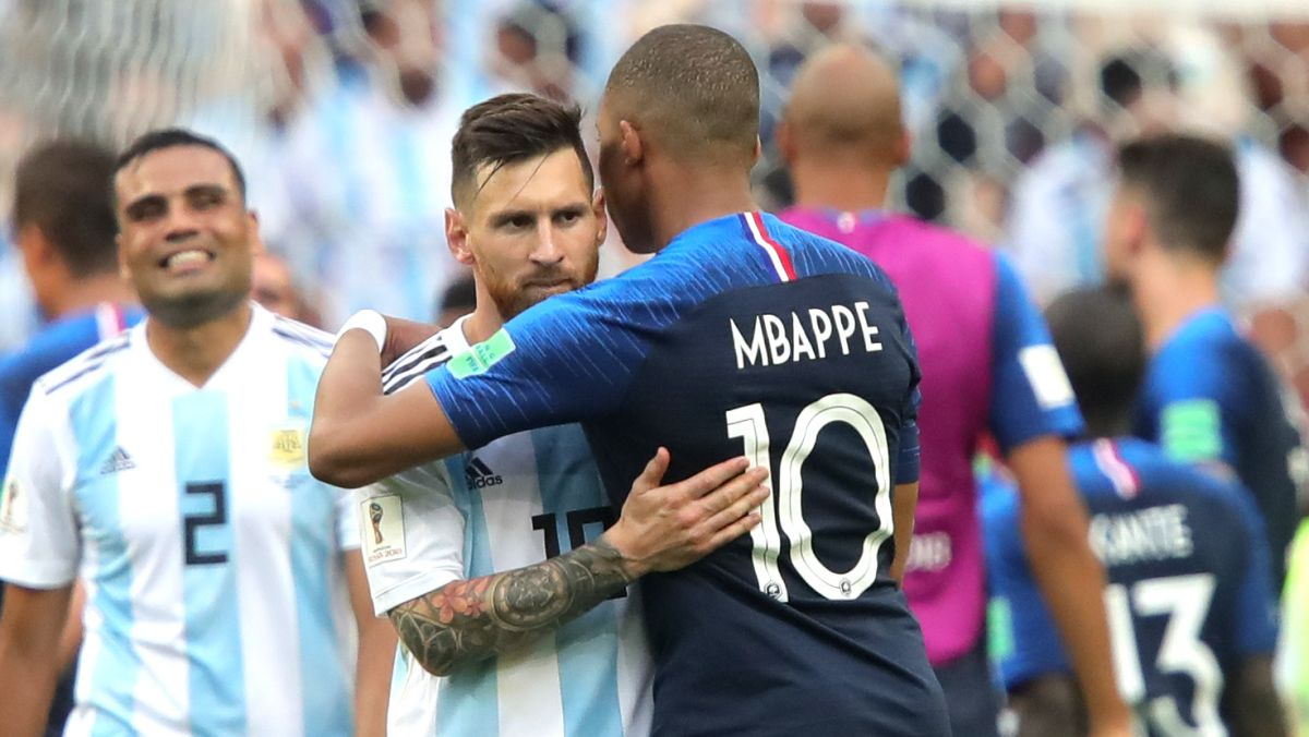 Kylian Mbappé, el fan de Cristiano Ronaldo que fue el verdugo de Lionel Messi