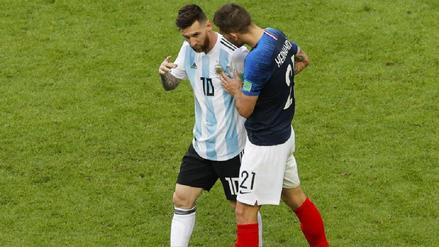 Los datos que dejó la victoria de Francia ante Argentina en Rusia 2018