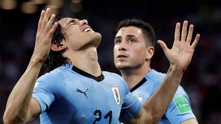 Con doblete de Cavani, Uruguay venció a Portugal y se metió a cuartos de Rusia 2018