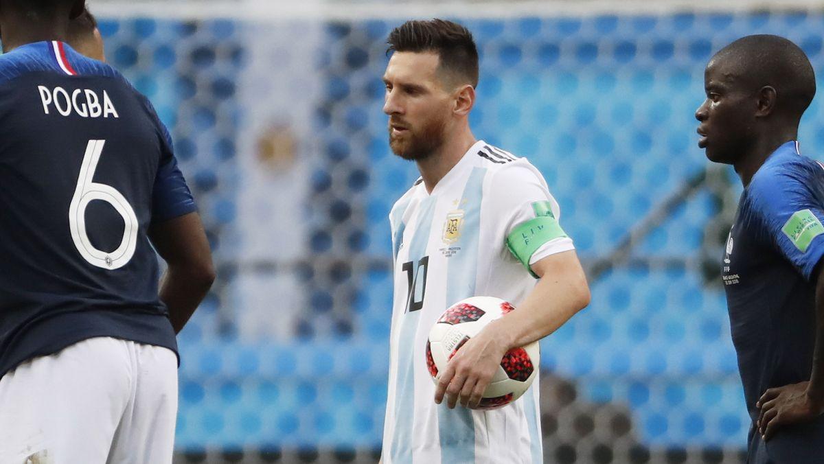 El lamento de Lionel Messi tras quedar eliminado de Rusia 2018