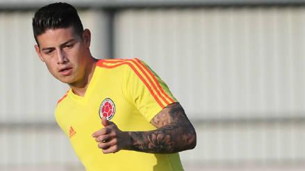 Colombia vs. Inglaterra: James Rodríguez aún es duda para el duelo en octavos de final