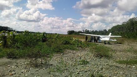 Policía incautó avioneta con más de 293 kilos de droga en Madre de Dios
