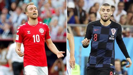 Croacia vs. Dinamarca: Resumen, jugadas y goles del partido por la Copa del Mundo