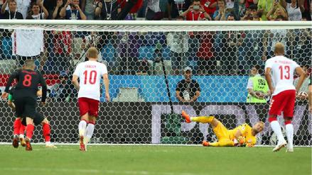 Luka Modric erró un penal y no pudo poner a Croacia arriba en el marcador