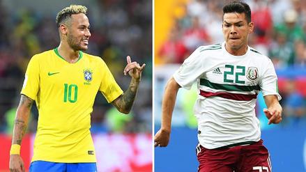 6 datos en la antesala del choque de octavos entre Brasil y México
