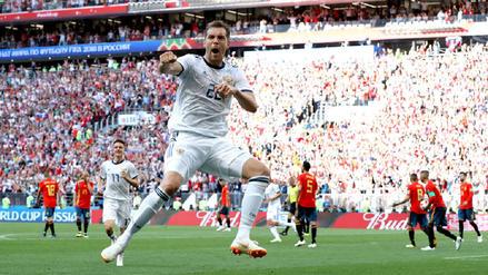 Rusia dio el batacazo y eliminó por penales a España de la Copa del Mundo