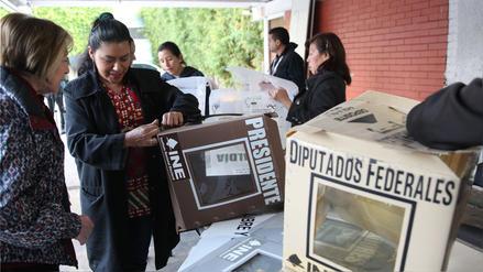 Se inició jornada electoral en México donde los votos se inclinan por el giro político de izquierda