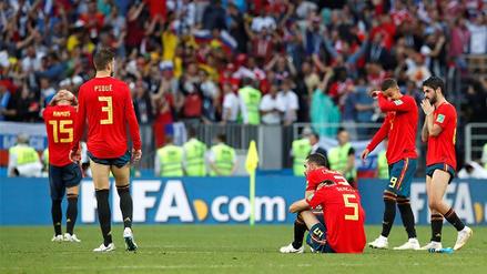 España y su maldición en los penales con los equipos anfitriones del Mundial