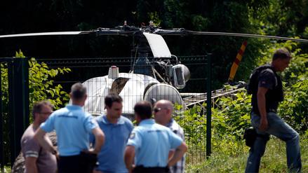 Uno de los presos más famosos de Francia se fugó en un helicóptero