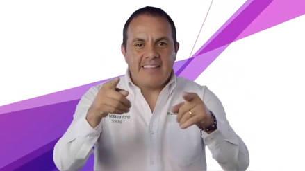 El exfutbolista Cuauhtémoc Blanco es el virtual gobernador del estado de Morelos