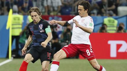 En Vivo   Dinamarca empata 1-1 con Croacia por los octavos de final de Rusia 2018