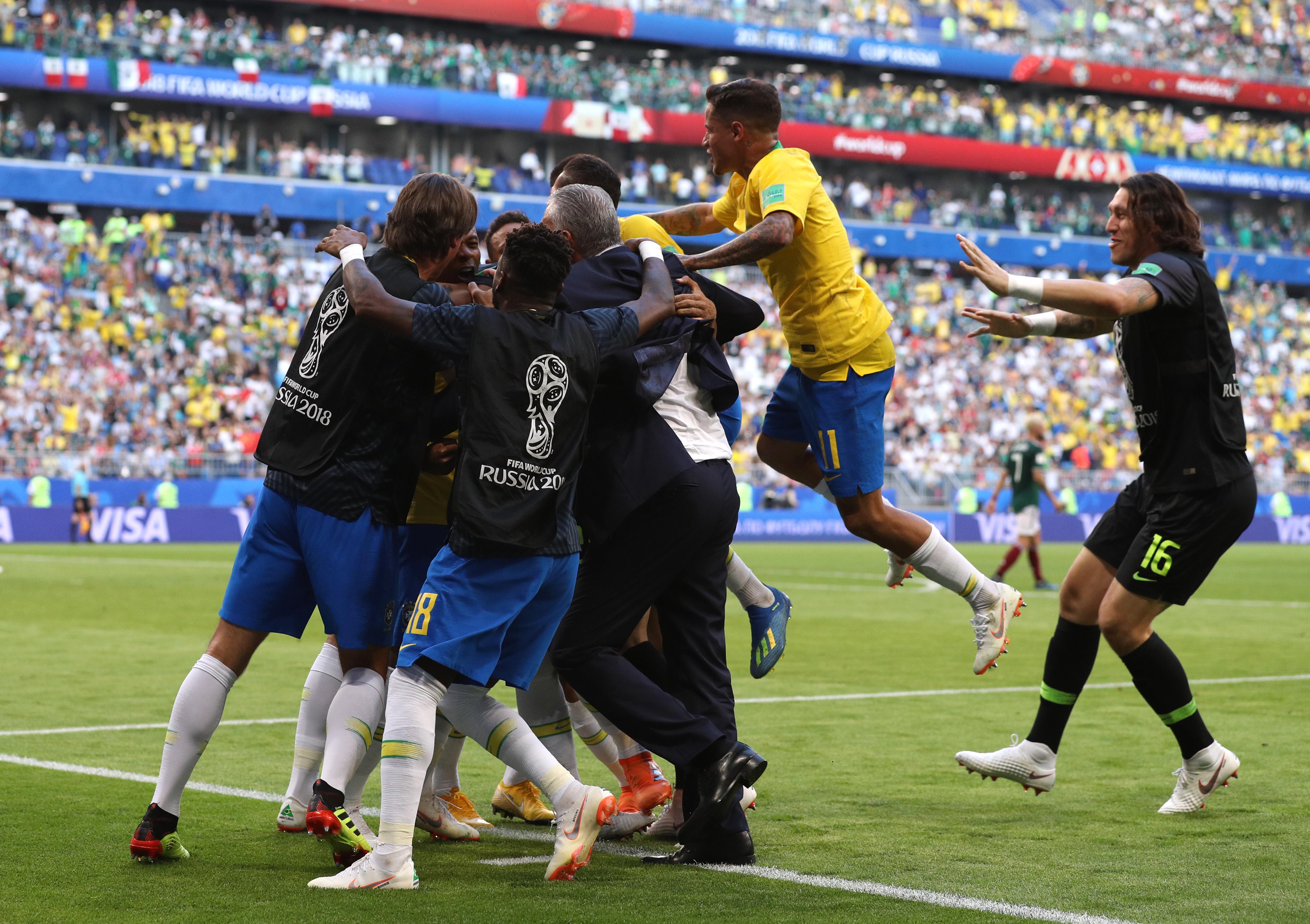 México 0-0 Brasil EN VIVO: horario, fecha y canal del partido por los octavos de final