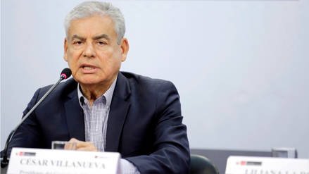 Villanueva confirmó que el Ejecutivo trabaja en alternativa para regular publicidad estatal