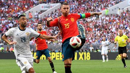 España 1-1 Rusia EN VIVO: horario, fecha y canal del partido por los octavos de final
