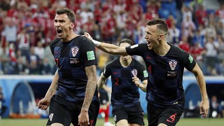 Croacia se metió en cuartos de final tras derrotar en penales a Dinamarca