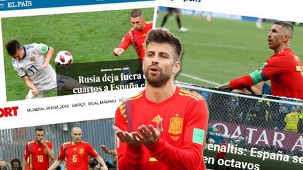 Así reaccionó la prensa mundial tras la eliminación de España