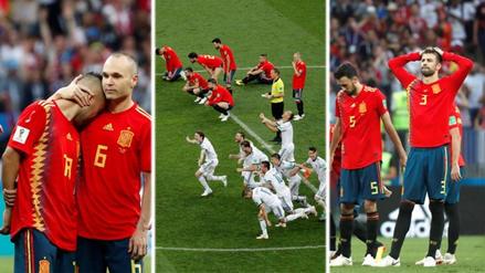 Así fue el lamento de los españoles tras quedar fuera del Mundial Rusia 2018