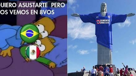 Los memes del Brasil vs México por octavos de final en Rusia 2018