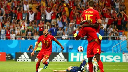 El magistral contragolpe de Bélgica para vencer a Japón en la última jugada