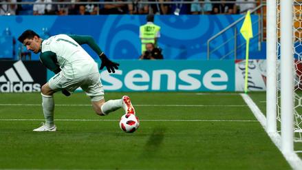 El blooper de Thibaut Courtois que casi termina en gol de Japón