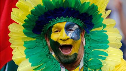 La algarabía de los hinchas en Rusia 2018 antes del México vs Brasil