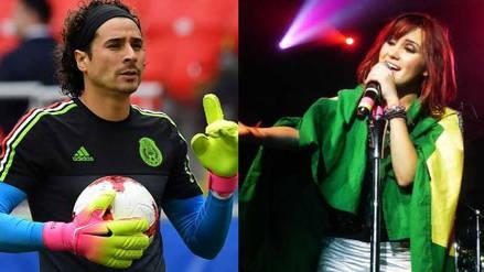 Brasil vs. México: Dulce María y los curiosos tuits en los que apoya a la selección brasileña