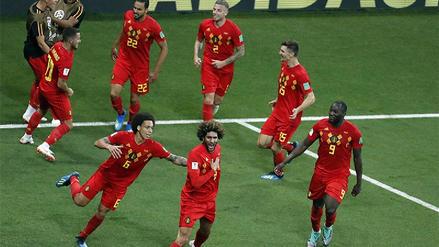Bélgica remontó tras estar dos goles abajo y venció 3 - 2 a Japón