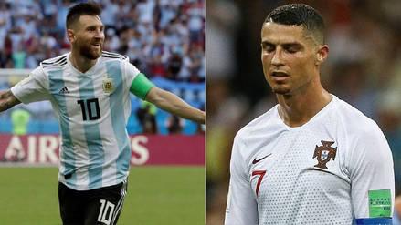 La superioridad de Lionel Messi sobre Cristiano Ronaldo en Rusia 2018 en estadísticas