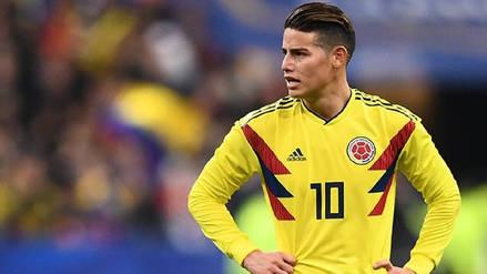 James Rodríguez podría jugar el duelo de octavos de final ante Inglaterra