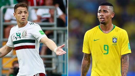 Minuto a minuto   México vs Brasil EN VIVO: por el Mundial Rusia 2018