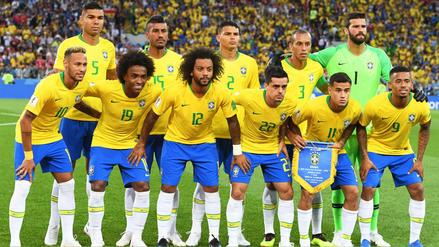 La alineación titular de Brasil para enfrentar a México en Rusia 2018