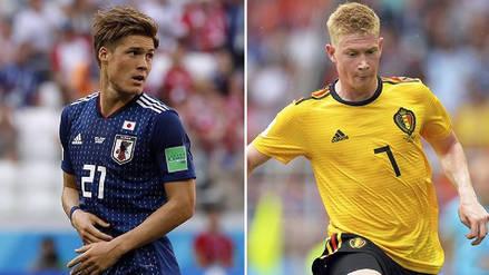 Bélgica vs. Japón: Resumen, jugadas y goles del partido por la Copa del Mundo