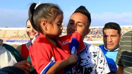 Christian Cueva recibe homenaje en Trujillo tras jugar el Mundial Rusia 2018