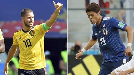 Bélgica vs. Japón: Resumen, jugadas y goles del duelo por el Mundial