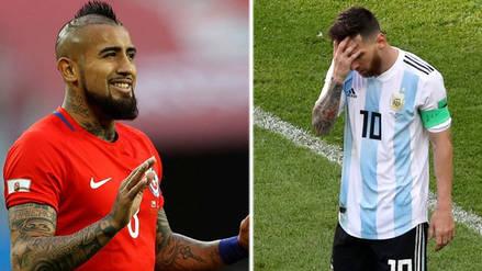 Piloto chileno se burló en pleno vuelo de la eliminación de Argentina