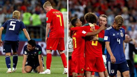 ¡Respect! Jugadores belgas consolaron a los japoneses tras eliminarlos del Mundial