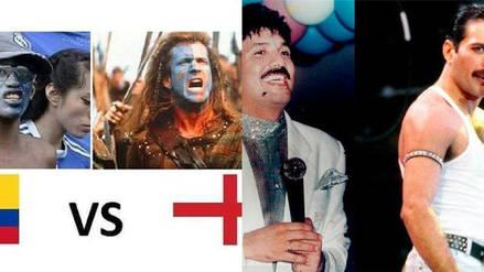 Colombia vs. Inglaterra: Los memes calientan la previa del duelo