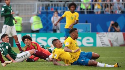 La secuencia del gol de Neymar ante México tras gran pase de Willian