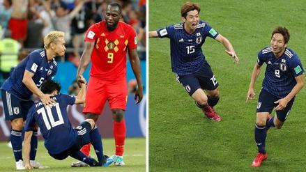 De la alegría al llanto, el adiós de Japón tras perder ante Bélgica