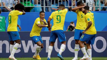 ¿Provocación? El peculiar festejo de Brasil en contra de México
