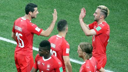 Suiza y su oncena inicial para derrotar a Suecia por Rusia 2018