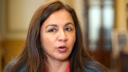 Marisol Espinoza consideró que APP no debe continuar en la Mesa Directiva del Congreso