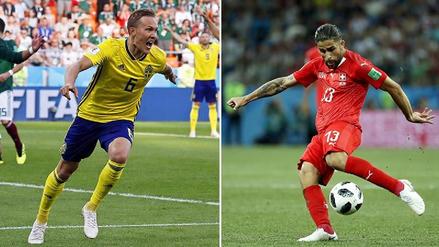 Suecia venció a Suiza en los octavos de final Rusia 2018