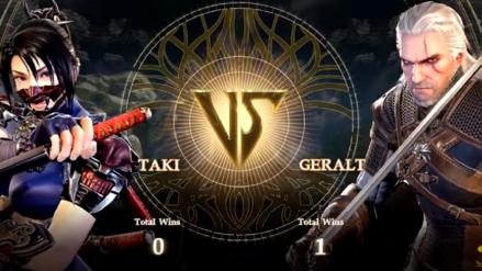 Geralt de Rivia muestra su jugabilidad en Soul Calibur VI