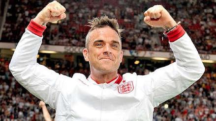Colombia vs. Inglaterra: Robbie Williams celebra triunfo inglés