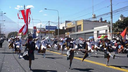 Arequipa: Colegios no pueden suspender labores por desfiles de Fiestas Patrias