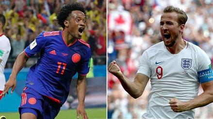 Colombia vs. Inglaterra EN VIVO EN DIRECTO ONLINE: Minuto a minuto por los octavos de final de Rusia 2018