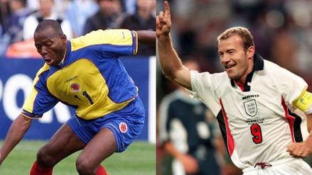 Colombia vs. Inglaterra: Asprilla y Shearer apostaron una barbacoa al ganador del duelo